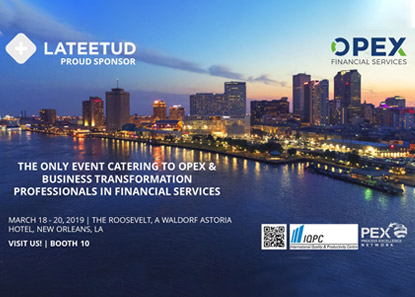 Lateetud Proud Sponsor of OPEX Financial Services NOLA!